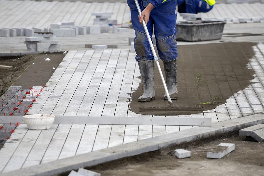 thiis image shows escondido concrete finishing