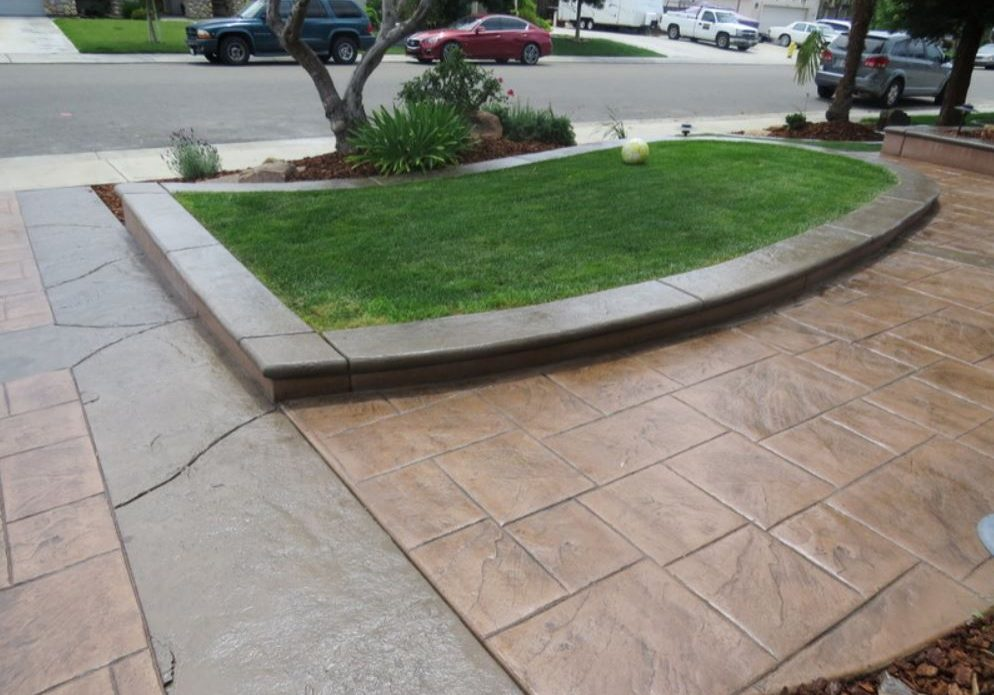 this picture shows driveway pavers in escondido