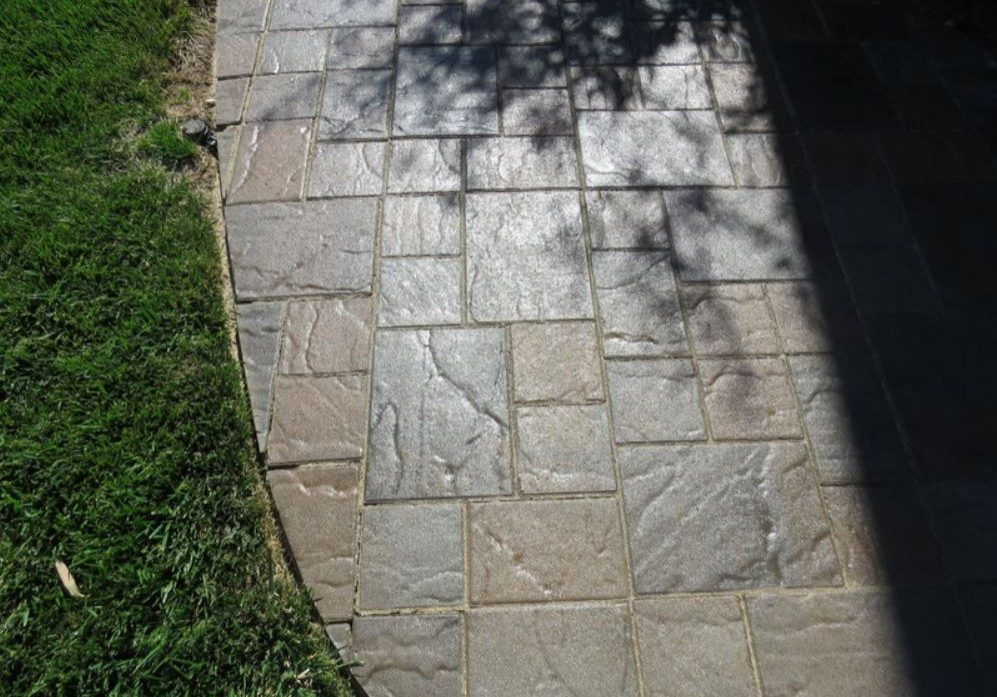 this is an example of flagstone patio in escondido, ca